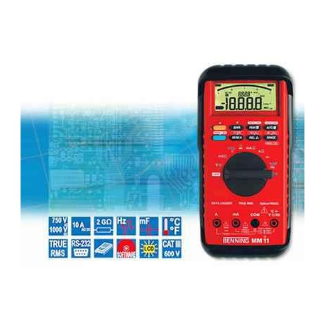 Digitálny multimeter BENNING MM 11