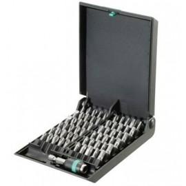 Sada bitov WERA Bit-Safes 8600/889 TZ, Torsion Rapidaptor, 61 dielov