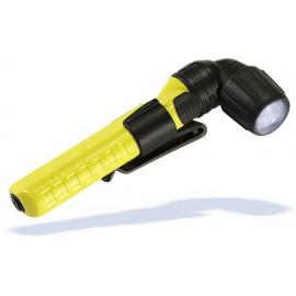 Ručné pravouhlé svietidlo UK 4AA AS2 Xenon, žlté