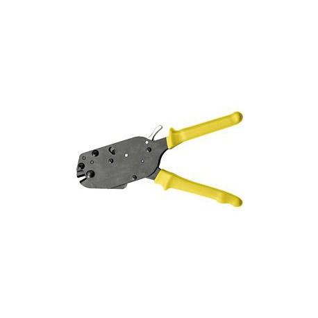 Nožnice BAUDAT KSS6 so západkovým prevodom na stavebnú oceľ do D 6 mm
