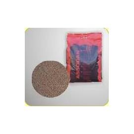 Sypký absorbent Absodan Plus DN1 (pre chemikálie) v pevnom PE vreci s držiakom, zmes rôzne veľkých granúl