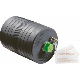 Prietokový nafukovací tesniaci vak SAVA PLUGSY odolný voči olejom, pre potrubia s malým priemerom, typ S 46 -52 C