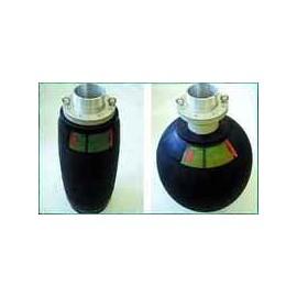 Prietokový nafukovací tesniaci vak SAVA PLUGSY, pre potrubia s väčším prietokom, typ VP 150 -300