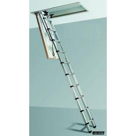 Teleskopický podkrovný rebrík TELESTEPS® Black Line