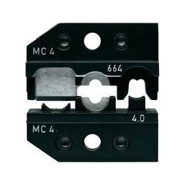 Lisovací profil KNIPEX na solárne konektory Multi-Contact MC4, 4 mm2, pre kliešte 9743200