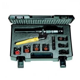 Sada BAUDAT LS8 na hydraulické vystrihovanie presných otvorov do plechov hrúbky 3 mm