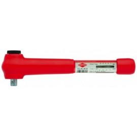 """Izolovaný momentový klúč KNIPEX, 5 - 25 Nm, 3/8"""""""