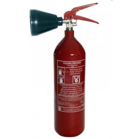 Prenosný hasiaci prístroj snehový CO2 S2Če 2 kg