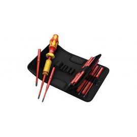Sada izolovaných skrutkovačov WERA Kraftform Kompakt VDE s momentovým skrutkovačom 1,2 - 3,0 Nm, 16 dielna