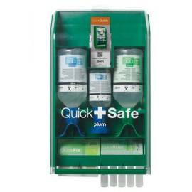Lekárnička stanica prvej pomoci PLUM Quick Safe pre chemický priemysel