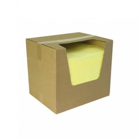 Absorbčné rohože EUSORB CPL ľahké perforované (pre chemikálie, 40x50 cm)