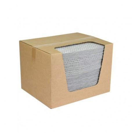 Univerzálne absorbčné rohože EUSORB MPM Premium spevnené perforované (40x50 cm, 100 ks)