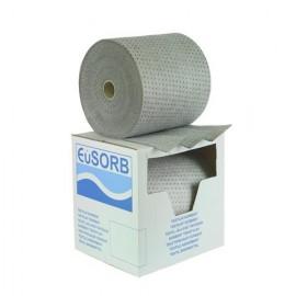 Univerzálny absorbčný koberec EUSORB MRHE hrubý spevnený perforovaný (40cm x 53m)