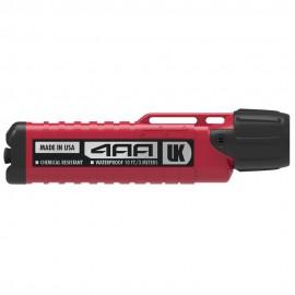 Ručné chemicky odolné svietidlo UK 4AA eLED Herculite® ATEX